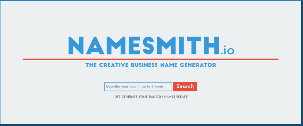 Namesmith name generator