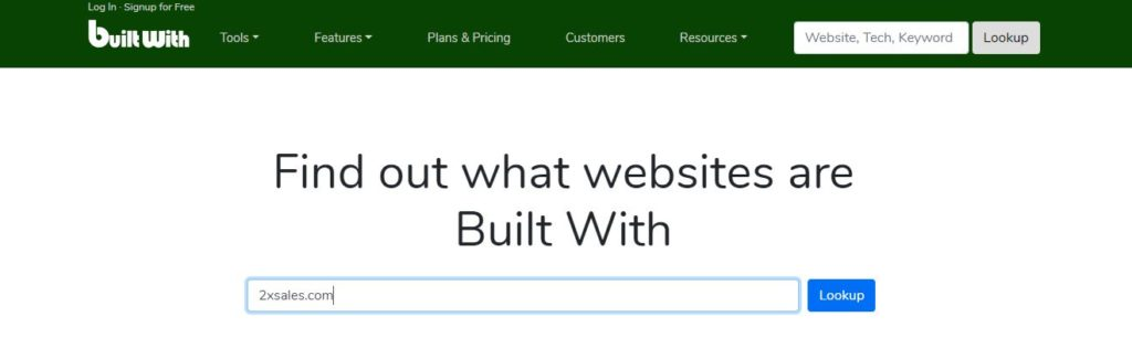 See What Websites Are Built With