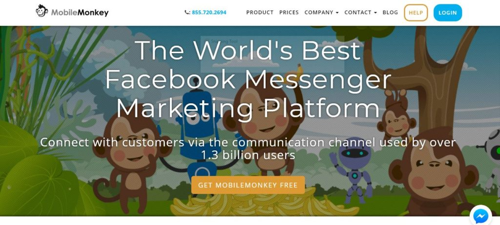 Free Facebook Messenger ChatBot Marketing
