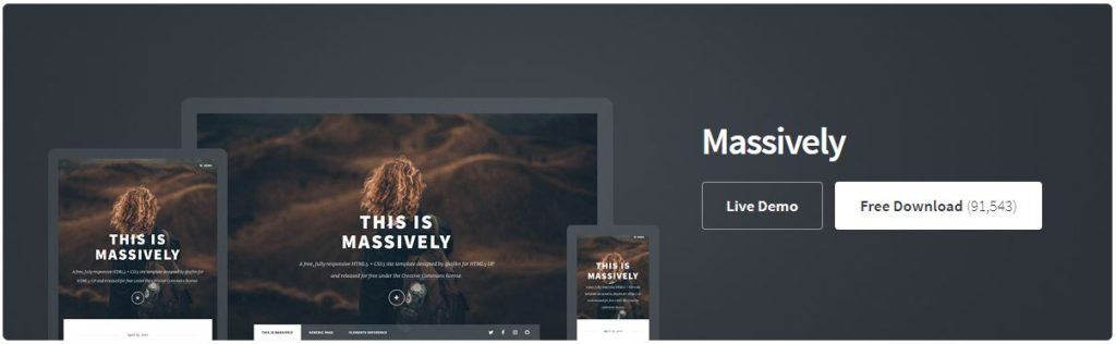 Free Website Template - MAssively